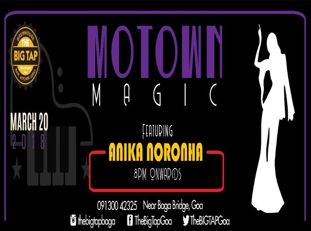 Motown Magic Tuesday 20th March 2018