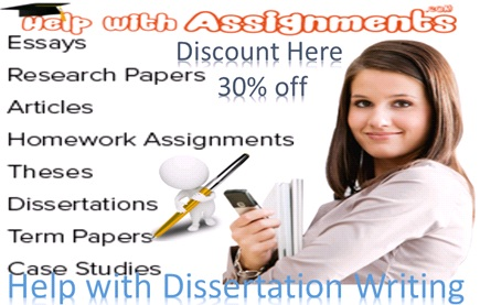 Get Answer From Help with Dissertation writing