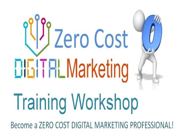 Online Zero Cost Digital Marketing Workshop on 24 & 25 March 2018