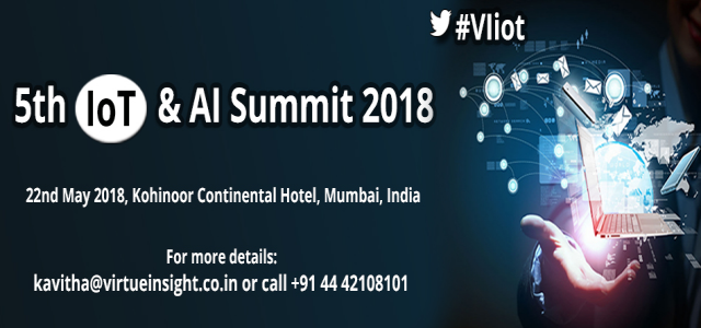 5th IoT & AI Summit 2018