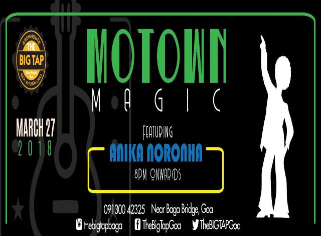 Motown Magic 27th March 2018