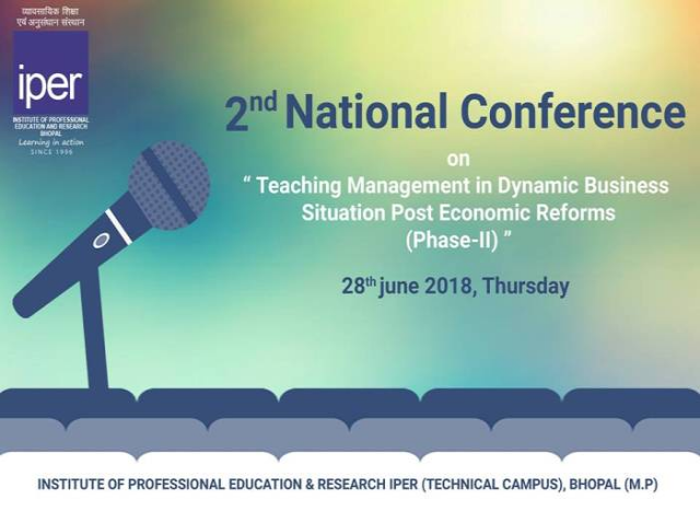 Second National Conference on Teaching Management in Dynamic Business Situation