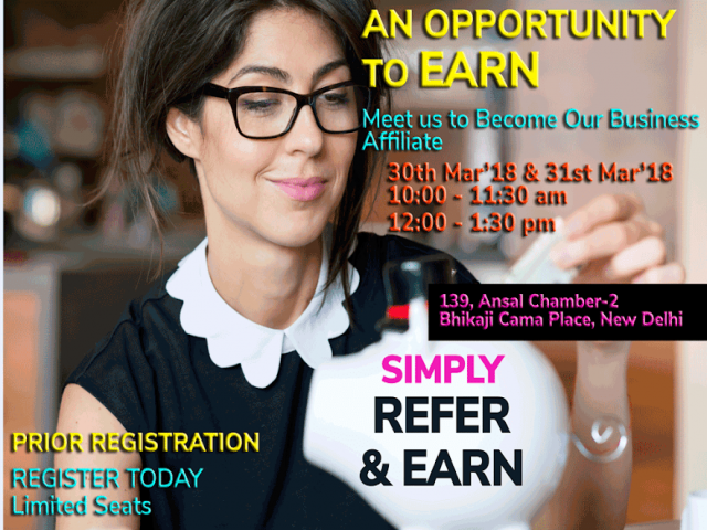 SIMPLY REFER & EARN: BUSINESS AFFILIATE PROGRAMME : You Grow As We Grow