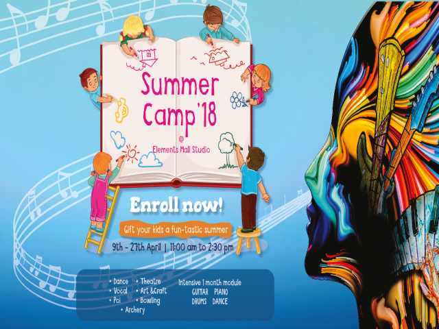 Summer Camp At ElememtsMall