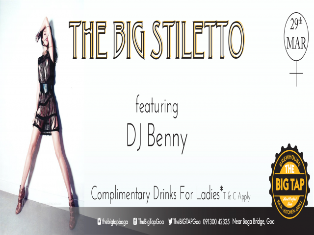 The Big Stiletto 29th March 2018