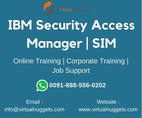 IBM Security Access Manager Online Training