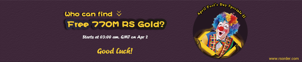 Free rs gold  to Celebrate Rainbow's End Apr.2