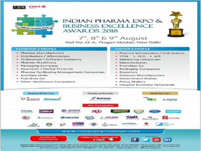 INDIAN PHARMA EXPO Business & Excellence Awards 2018