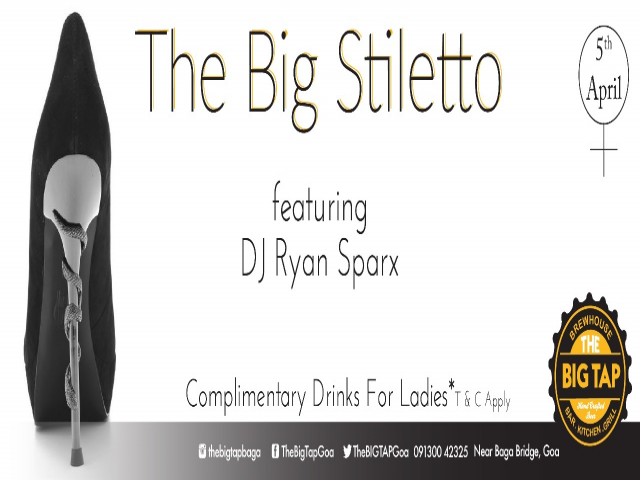 The Big Stiletto Thursday 5th April 2018