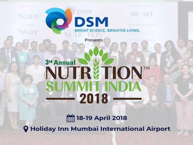 3rd Annual Nutrition Summit India 2018