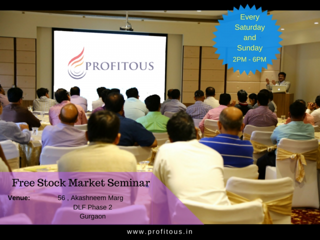 FREE STOCK MARKET SEMINAR IN Gurgaon