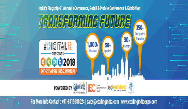 Etailing India Expo 2018