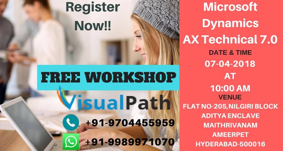 Free Workshop on Microsoft Dynamics AX Technical 7.0 By Visualpath