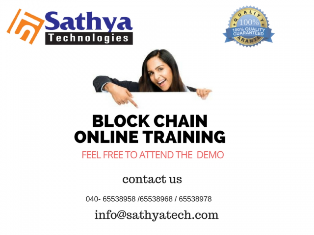 Block chain Training In Hyderabad