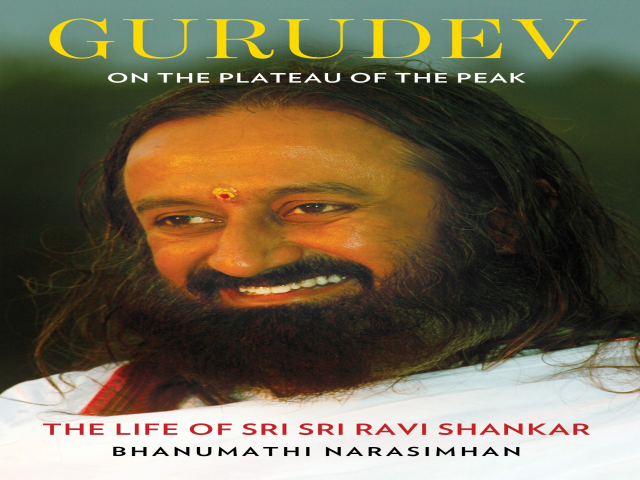 Bhanumathi Narasimhan to launch the first official biography of Sri Sri Ravi Sha