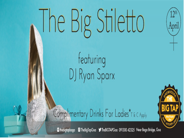 The Big Stiletto Thursday 12th April 2018