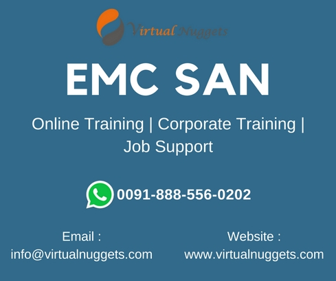 EMC SAN Training