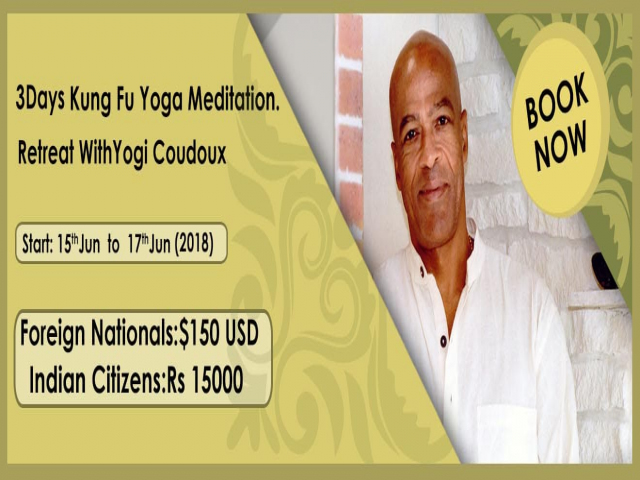 Kung Fu Yoga Meditation Retreat in Bengaluru India