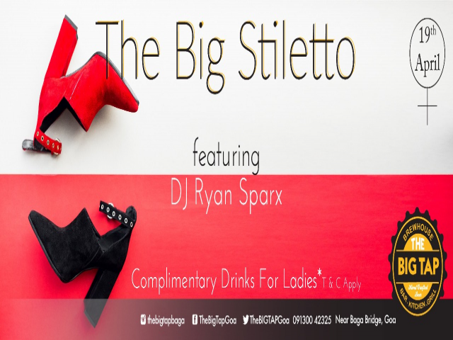 The Big Stiletto Thursday 19th April 2018