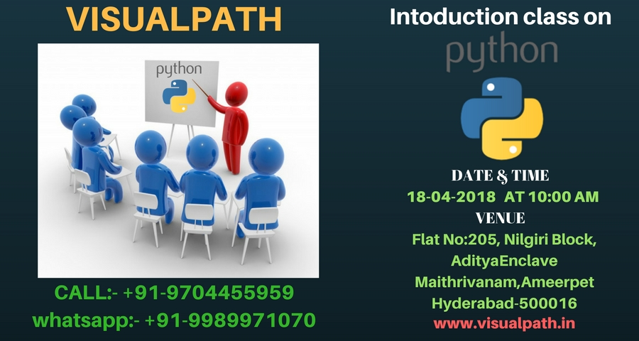 Introduction class On python Training By Visualpath