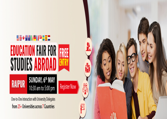 Education Fair for Studies Abroad at Raipur