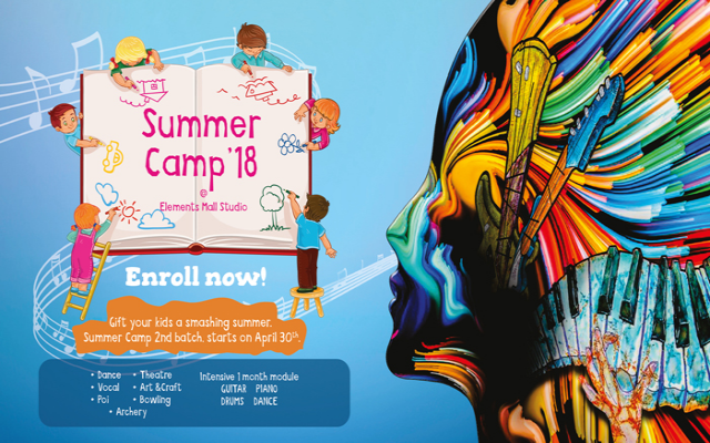 Summer Camp at Elements Mall