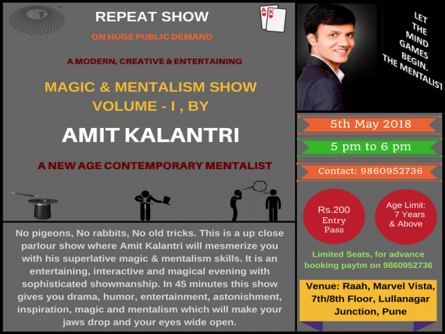 Magic & Mentalism Show Volume I
