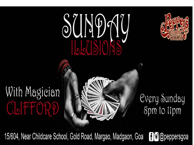 Sunday Illusions 22nd April 2018