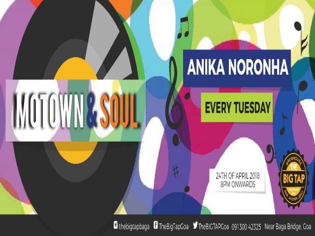 Motown & Soul Tuesday 24th April 2018