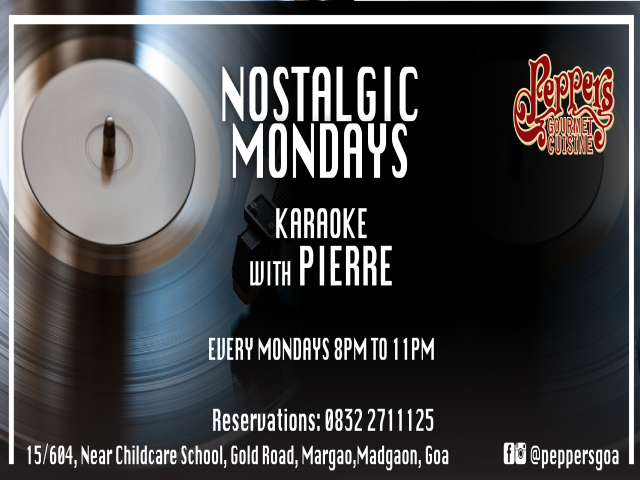 Nostalgic Mondays with Pierre 30th April 2018
