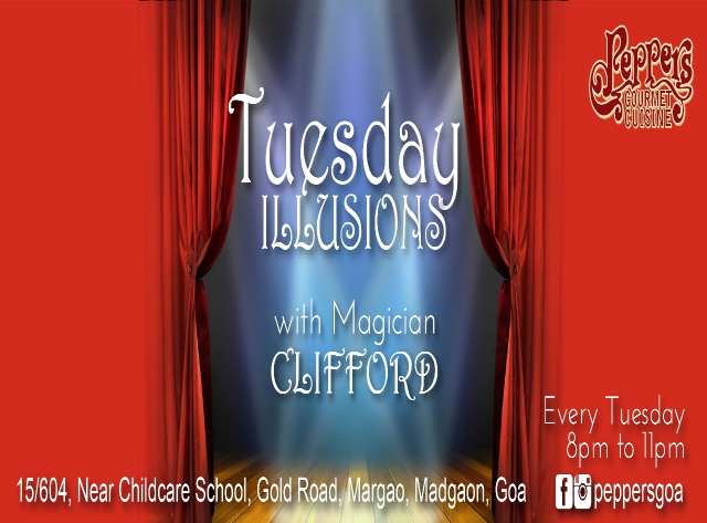Tuesday Illusions 1st May 2018