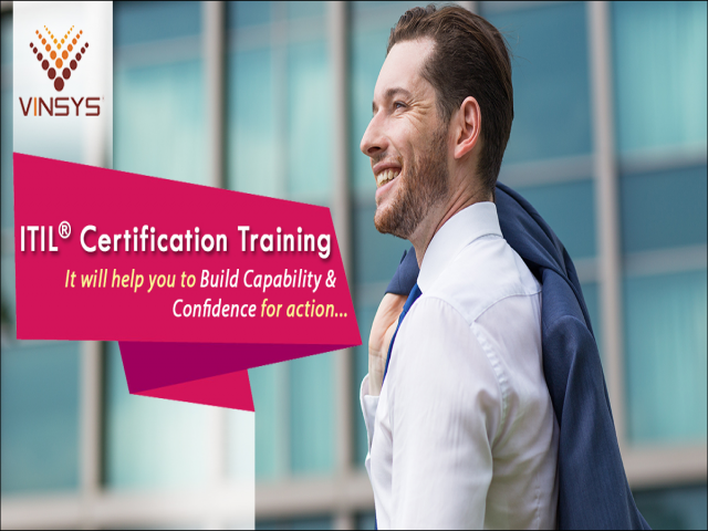 Enroll for ITIL Foundation Certification in Pune- ITIL Training in Pune by Vinsy