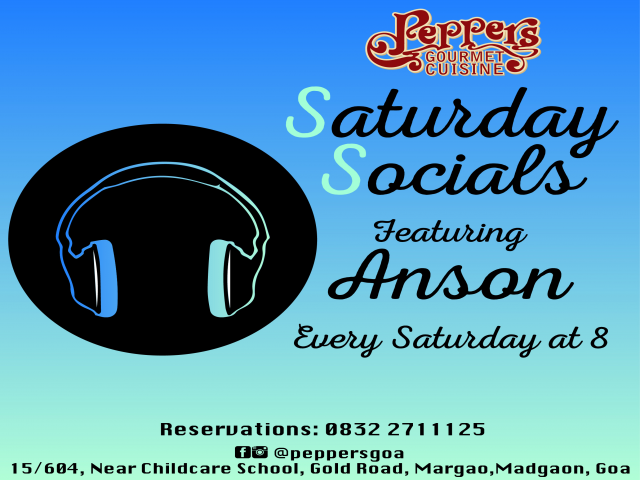 Saturday Socials 5th May 2018