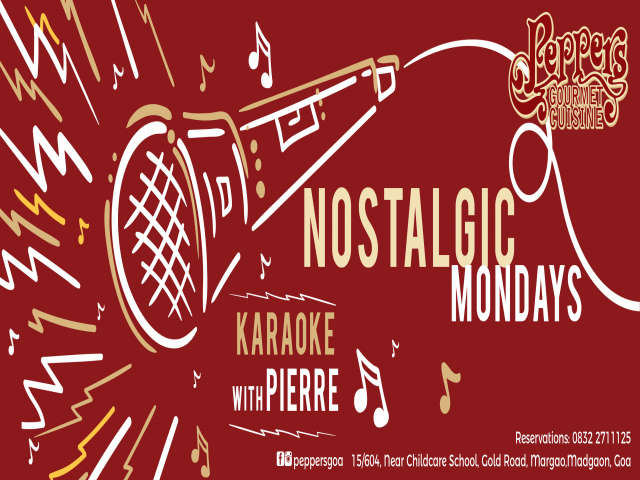 Nostalgic Mondays with Pierre 7th May 2018