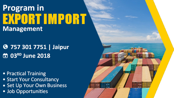 Start and Set up Your Own Import and Export Business At Jaipur
