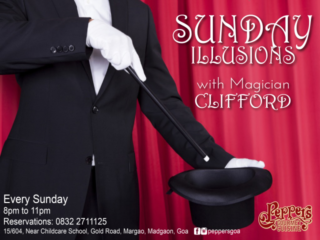 Sunday Illusions 13th May 2018