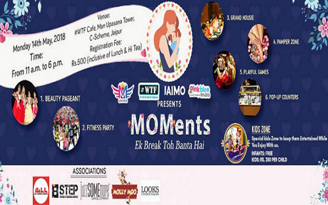 PinkBlueIndia.com and WTF Presents MOMents Ek Break Toh Banta Hai Fun Activities