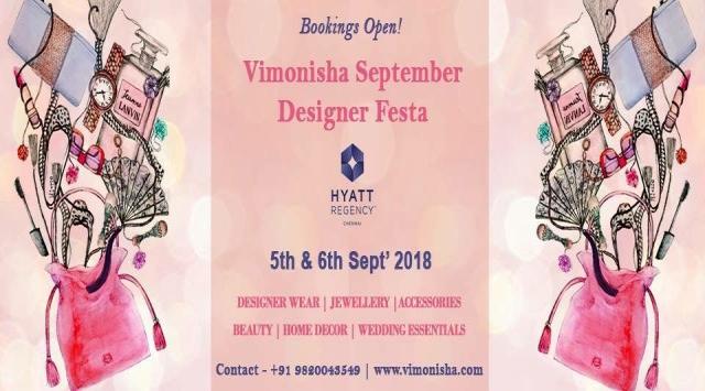 Vimonisha September Designer Festa in Chennai