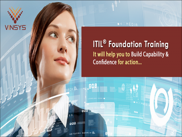 ITIL Foundation Certification Training at Bangalore |Weekend Workshop |  Vinsys IT Services