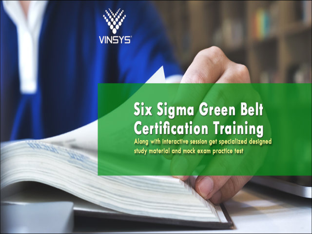 Six Sigma Certification Delhi - Six Sigma Green Belt Certification in Delhi