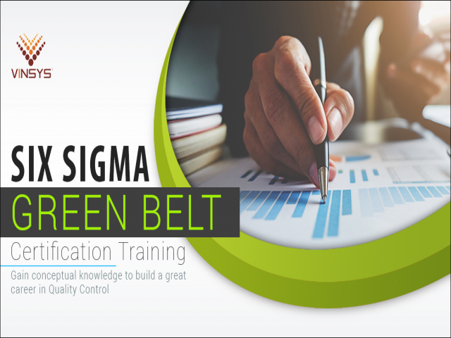 six sigma green belt Certification Training Pune| lean six sigma Pune | Vinsys