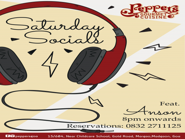 Saturday Socials 19th May 2018