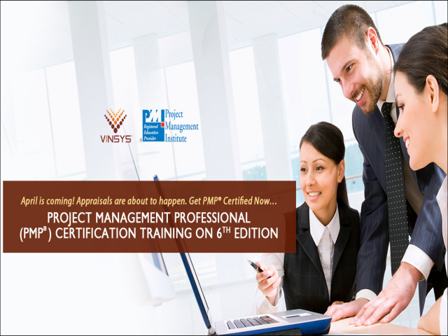 PMP Certification Training in Pune - Project Management Courses in Pune - Vinsys