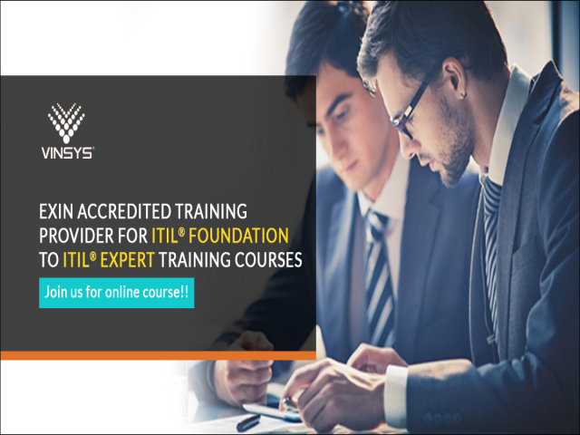 ITIL Certification Training in Bangalore| ITIL V3 Foundation Course in Bangalore | Vinsys