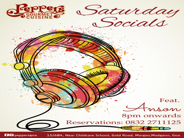 Saturday Socials 26th May 2018