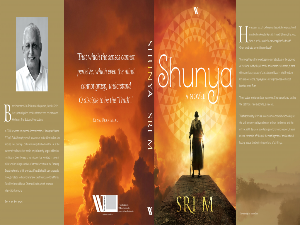 Sri M to launch his book  Shunya in Bengaluru