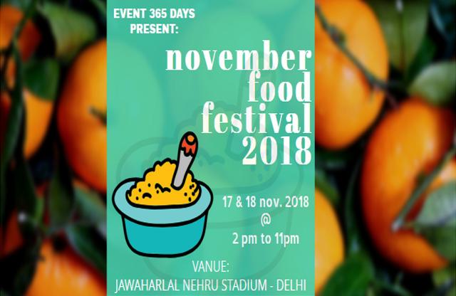 november food festival 2018