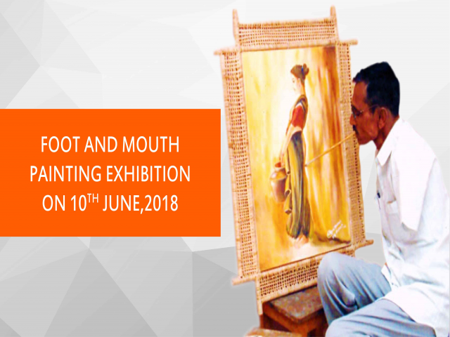 Mouth and Foot Artists Exhibition