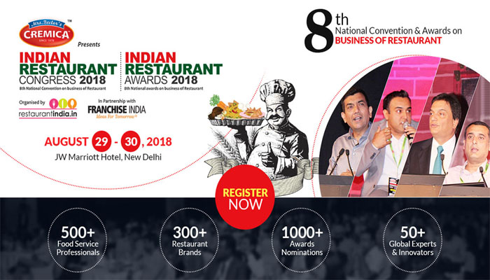 Indian Restaurant Congress & Awards 2018