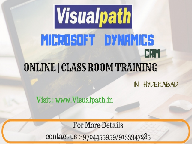 Best Ms Dynamic Ax CRM Training class in Hyderabad-Visualpath